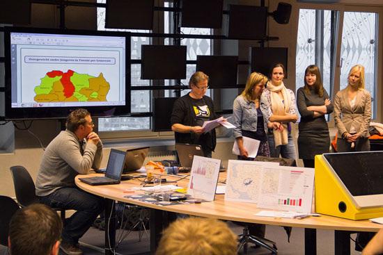 Figure 23. New communities around data journalism (photo by Heinze Havinga)