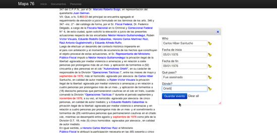 Figure 41. <em>Mapa76</em> (Hacks/Hackers Buenos Aires)