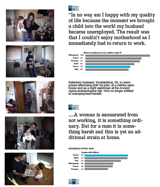 Figure 32. Numbers are people: the value of data lies in the individual stories they represent (Wall Street Journal)